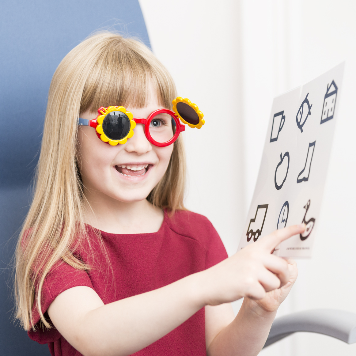 When should I get my child's eyes examined?