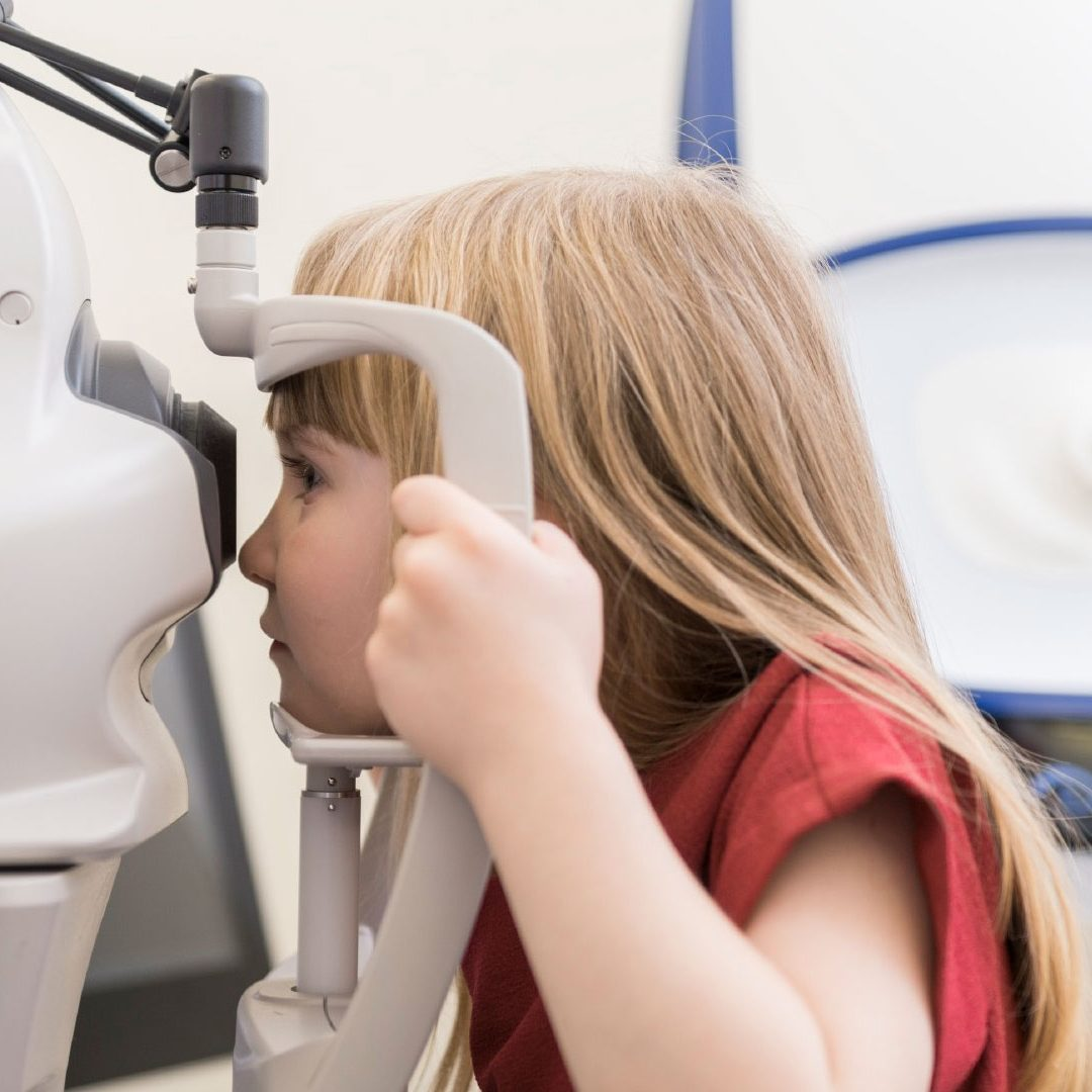 Pre-school vision screening not the same as a comprehensive eye examination