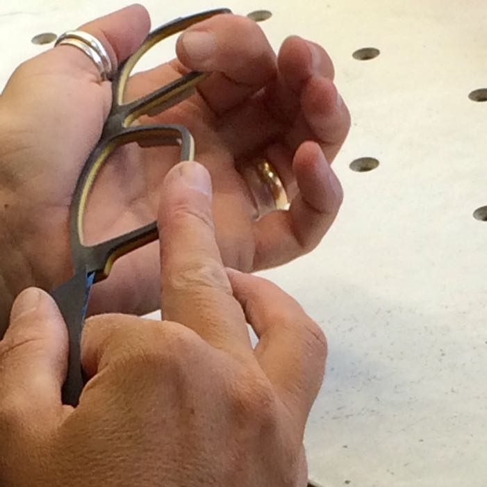 FEB31st: totally unique, artisan frames, handcrafted in Bergamo